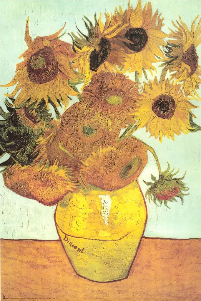 Motivschirm Automatik Vincent Van Gogh Sonnenblumen