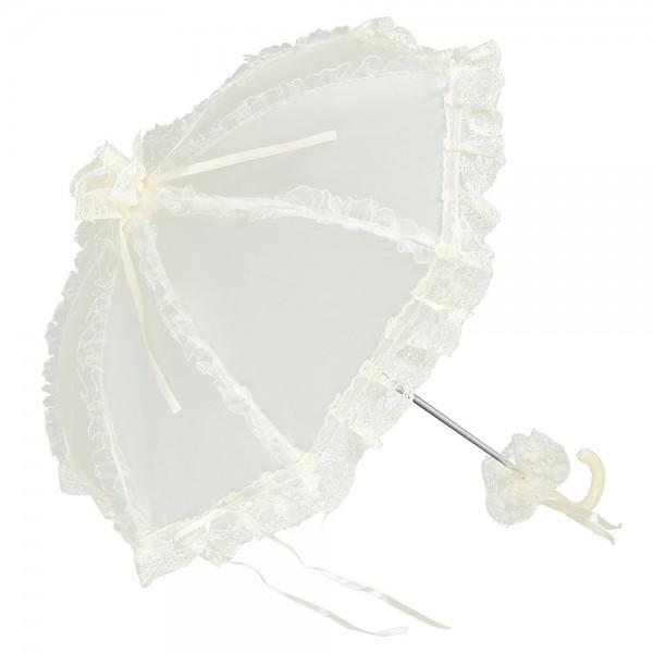 "Bridal umbrella ""Malisa"", champagne"