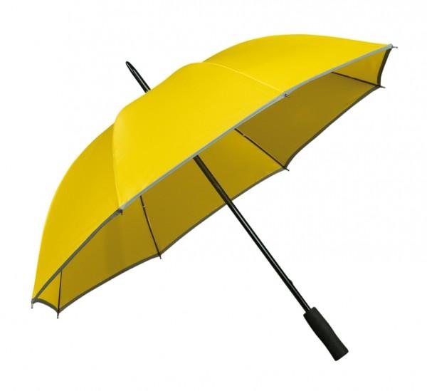 Regenschirm Reflektor-Streifen Finn gelb
