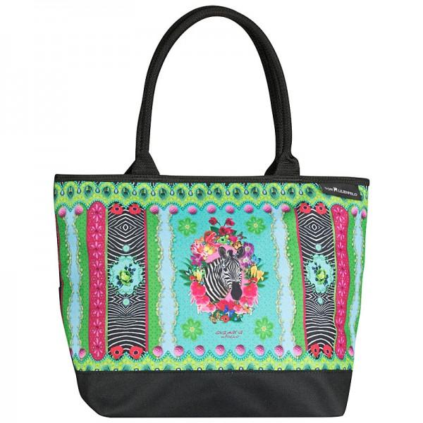 Tote Bag Shopping Eva Maria Nitsche: Zebra's Garden