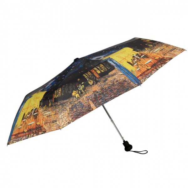 Folding Pocket Umbrella Automatic Telescopic Vincent van Gogh: Nightcafé