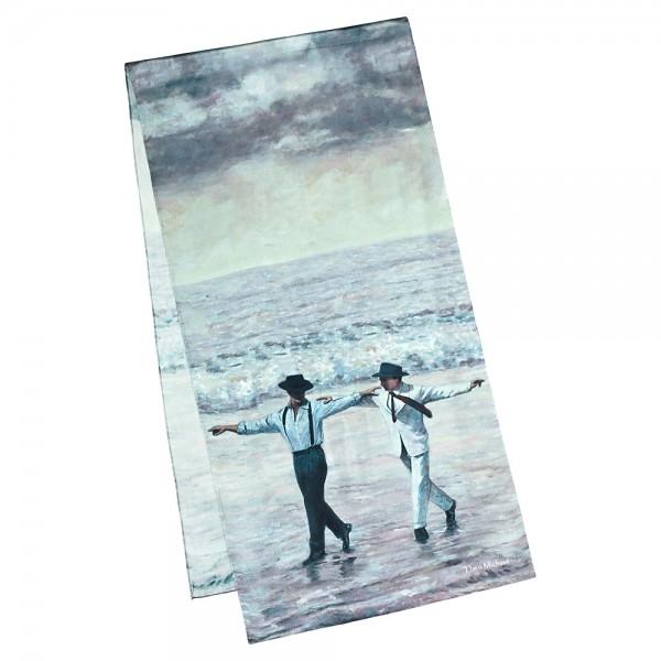 Seidenschal Satin lang 172 x 42 cm Theo Michael: Sirtaki