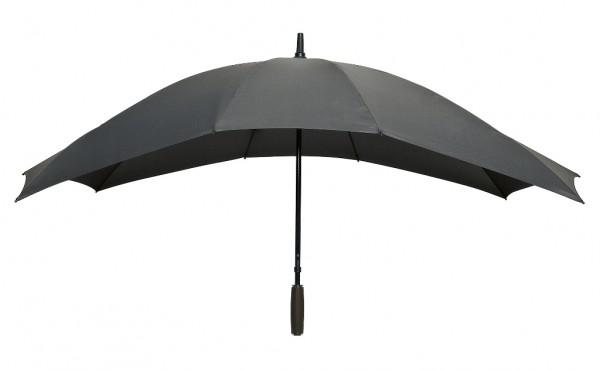 Regenschirm Partnerschirm Maxi grau