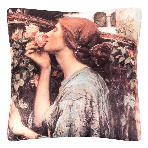 Cushion 40 x 40 John W. Waterhouse: My Sweet Rose