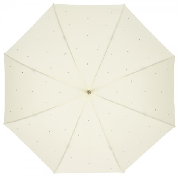Regenschirm Lea, creme MADE WITH SWAROVSKI® ELEMENTS