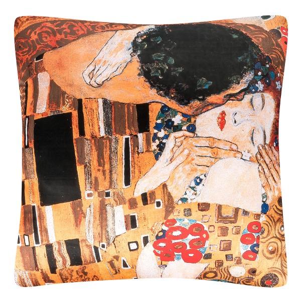 Cushion 40 x 40 Gustav Klimt. The Kiss