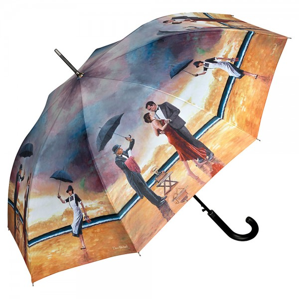"Automatic umbrella Theo Michael: ""Hommage to the Singing Butler"""