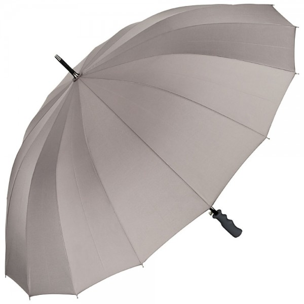 Automatic Umbrella XXL Cleo, grey