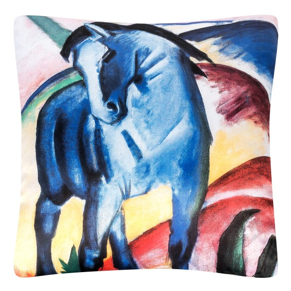Cushion 40 x 40 Franz Marc: Blue Horses