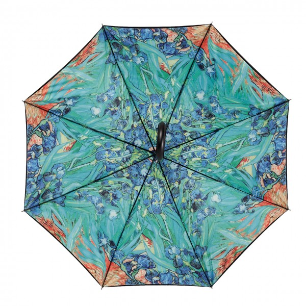 Automatic umbrella Vincent van Gogh: Irises, Double Layer