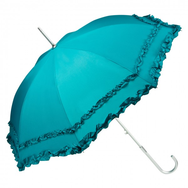 "Automatic umbrella ""Mary"", emerarld green"