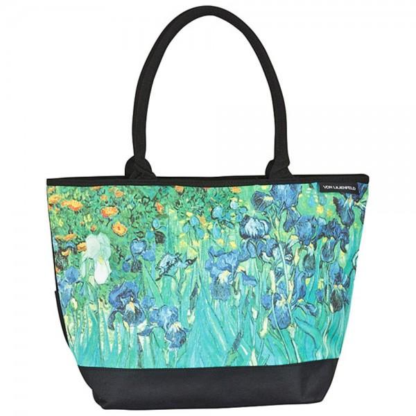 Tasche Shopper Umhängetasche Kunst Vincent van Gogh: Iris