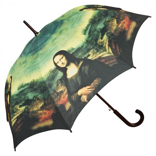 "Automatic umbrella Leonardo da Vinci: ""Mona Lisa"""