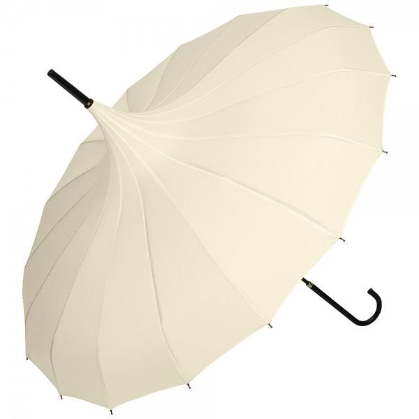 Regenschirm Sonnenschirm Pagode Fabienne, creme