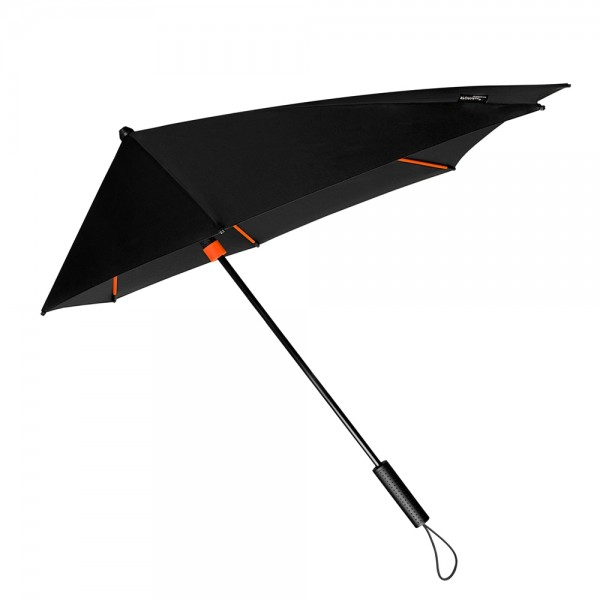 Umbrella Storm Proof Special Shape Alex orange