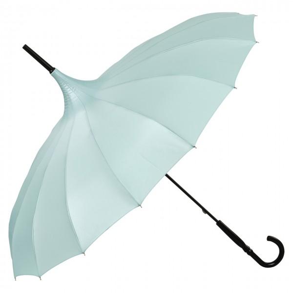 "Regenschirm Sonnenschirm Pagode ""Cécile"", aquamarin (metallic)"