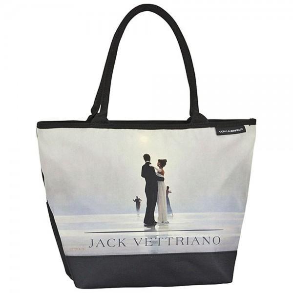 """Tasche Shopper bedruckt mit Motiv Jack Vettriano: """"Tanz mit mir"""""""
