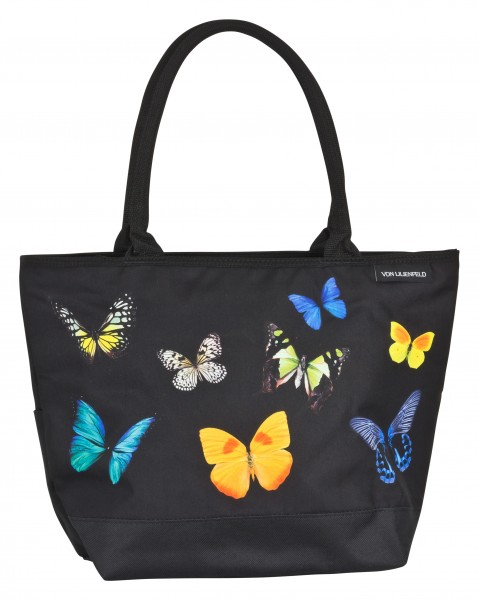 Tote Bag Shopping Butterflies Dance