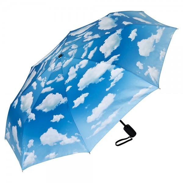 Folding Pocket Umbrella Automatic Telescopic Bavarian Sky