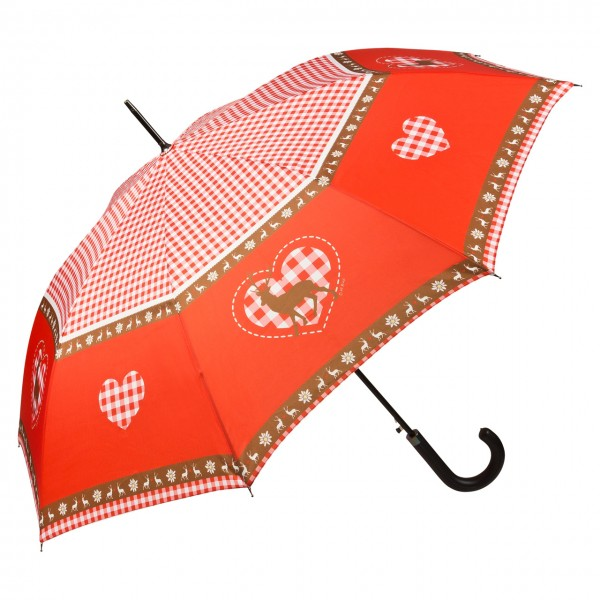 "Automatic umbrella ""Deer and Heart"""