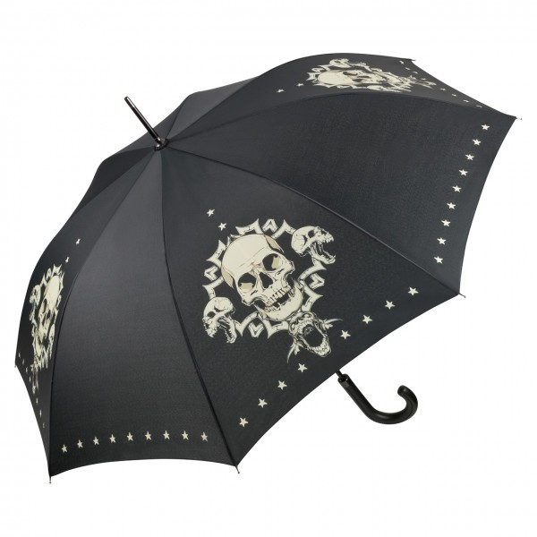 Umbrella Automatic Art Skull