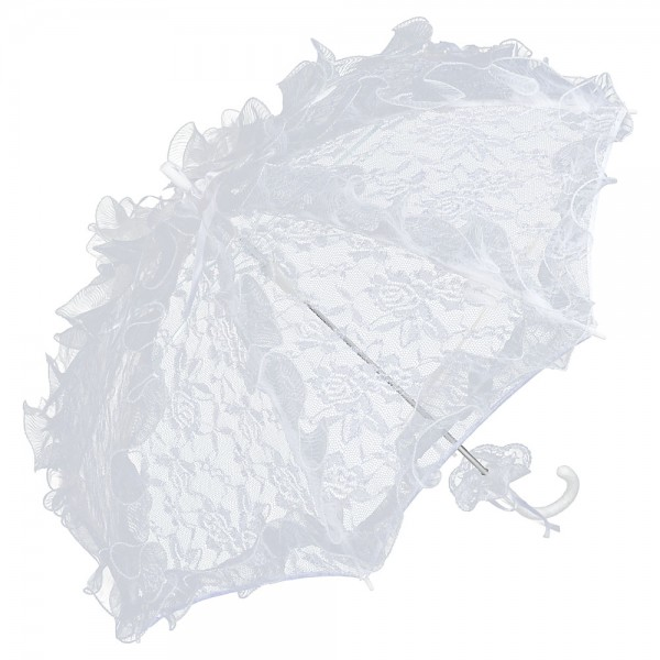 Bridal Wedding Umbrella Désiree, white