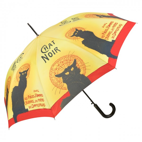 Umbrella Automatic Art Chat Noir